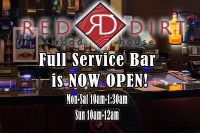 Red Dirt Bar Open