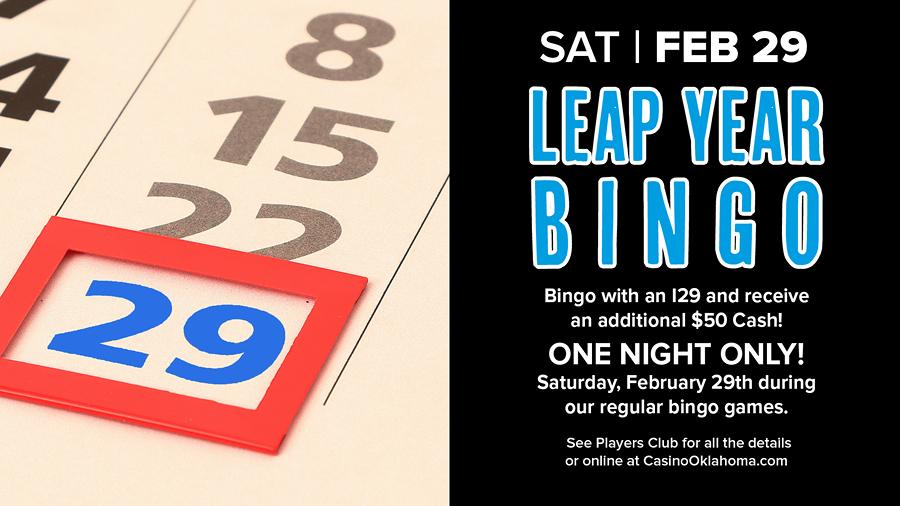 Leap Year Bingo