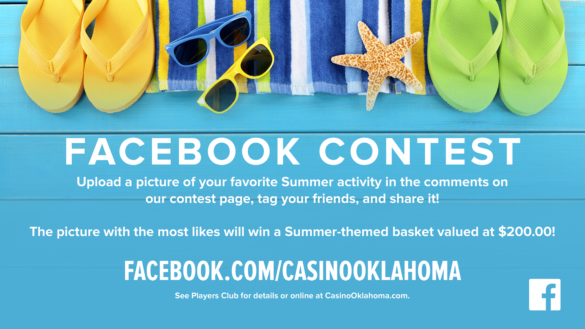 Summer Facebook Contest